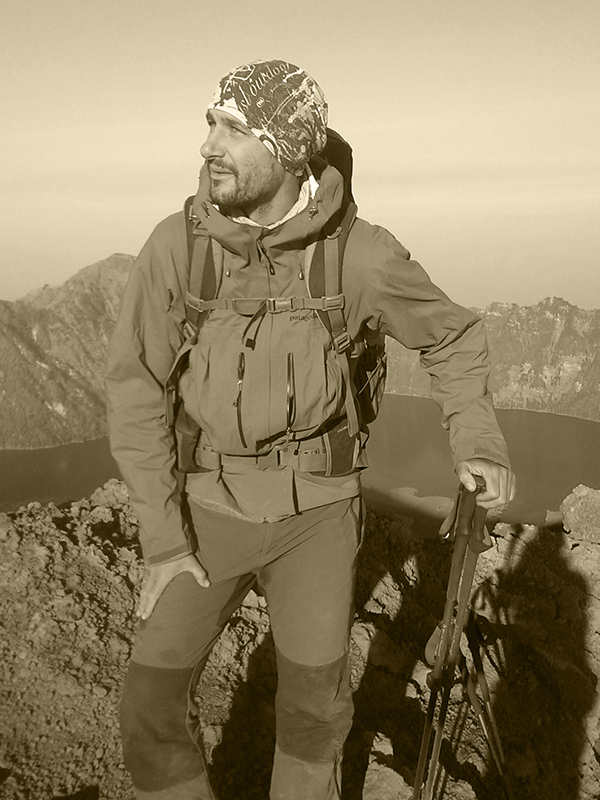 Didier Sauvestre, accompagnateur de léquipe d'AuvergnAttitude