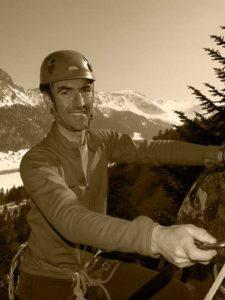 Laurent Granet, moniteur d'escalade mais pas que…