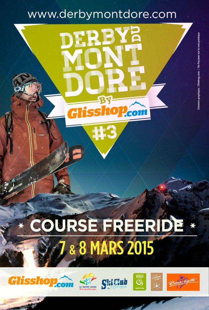 flyer Derby du Mont-Dore 2015