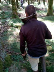 Reproduction grandeur nature d'un TRA à Murat-le-Quaire - Massif du Sancy - Puy-de-Dôme - Auvergne - Massif Central