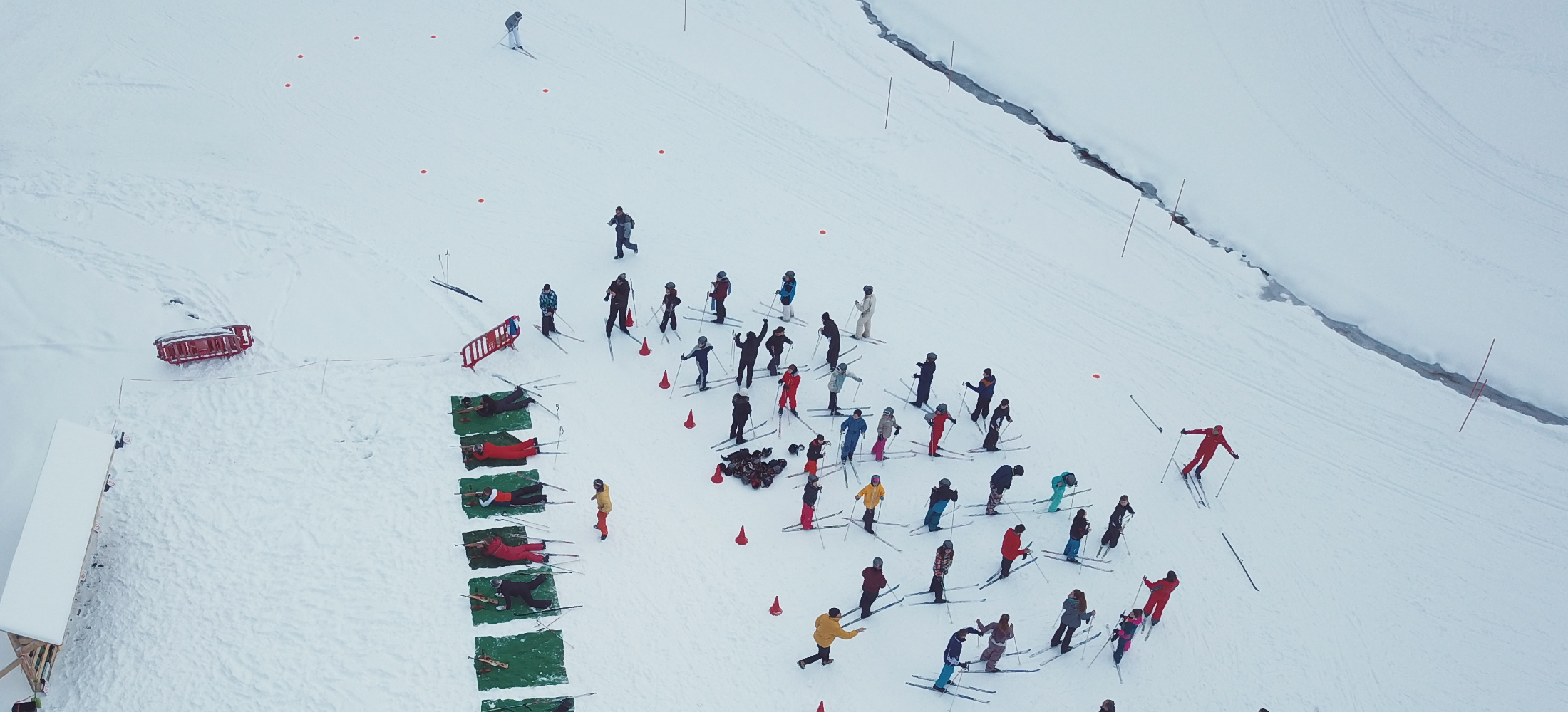 Biathlon avec Auvergn'Attitude