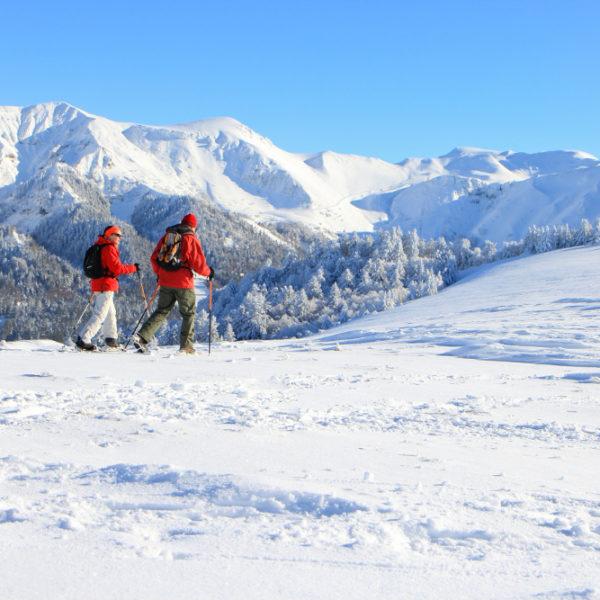 Randonnées à Raquettes - Massif du Sancy - Puy-de-Dôme - Auvergne