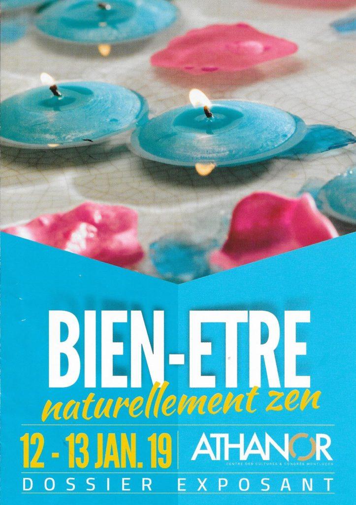 Salon Naturellement Zen à Montluçon - 12 et 13 janvier 2019