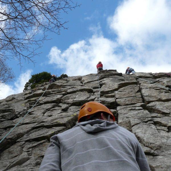 Escalade dans le Massif du Sancy avec Laurent GRANET